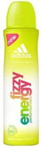 Adidas дезодорант спрей Fizzy energy 150мл