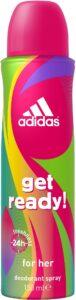 Adidas дезодорант спрей Get Ready 150мл