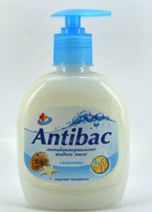 Antibac Жидкое мыло Антибактериальное Морские минералы 330мл