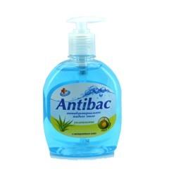 Antibac Жидкое мыло Антибактериальное с Экстрактом Алоэ 330мл