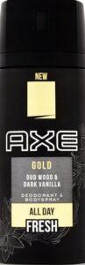 Axe спрей Gold 150мл
