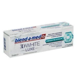 BLEND A MED Зубная паста 3d White Luxe Совершенство интенсив 75мл