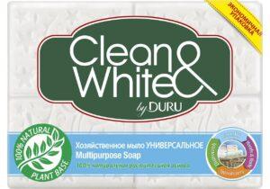 DURU Хозяйственное мыло Clean&White Универсальное 4х125гр