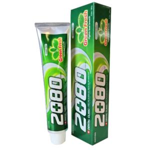 Dental Clinic 2080 зубная паста Освежающая Зелёный чай 120мл