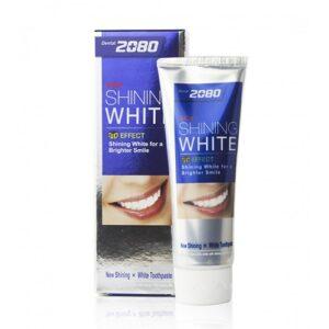 Dental Clinic 2080 зубная паста Shining White Отбеливающая 100мл
