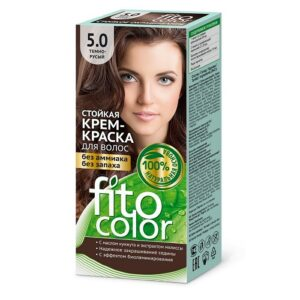 Fito Color Краска для волос Тон 5.0 Тёмно-русый 115мл