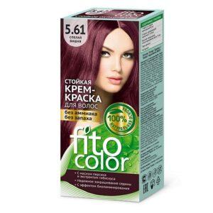 Fito Color Краска для волос Тон 5.61 Спелая вишня 115мл