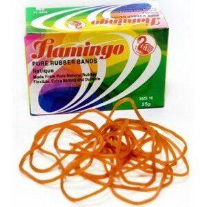 Flamingo резинки для купюр 25шт