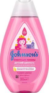Johnson's Baby Шампунь детский Блестящие локоны 300мл