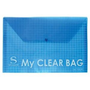 My Clear Bag папка в клетку 1шт