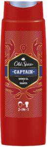 OLD SPICE Гель для душа + шампунь 2в1 Captain 400мл
