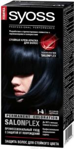 Syoss Краска для волос 1-4 Иссиня-чёрный 50мл