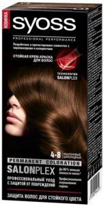 Syoss Краска для волос 4-8 Каштановый Шоколадный 50мл