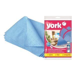 York Салфетки для уборки Премиум 4+1шт
