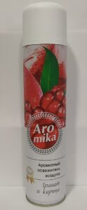Аромика Premium Освежитель воздуха Гранат и Корица 300мл