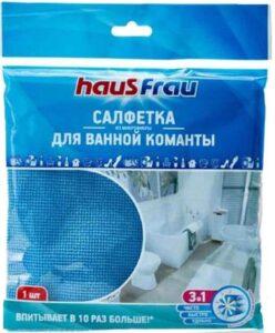 Haus Frau Салфетка для уборка из Микрофибры для Ванной комнаты 30х30см 1шт