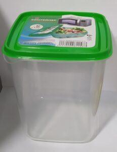 Far El Plast ёмкость для хранения продуктов Прямоугольный 1.5л