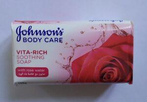 Johnson's Baby Vita-Rich мыло Успокаивающее с экстрактом Розы 125гр