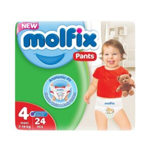 MOLFIX Трусики детские №4 MAXI 24шт