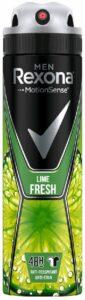 Rexona Men спрей Natural Fresh Lime Detox 150мл
