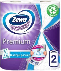 Zewa Бумажные полотенца Premium 2х слойные 2шт