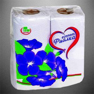 Фиалка полотенца бумажные 2х слойные 2шт