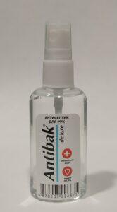 Antibak de Luxe антисептик для рук 50мл