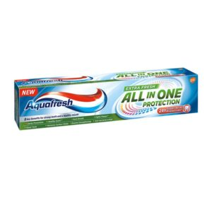 Aquafresh Senses Зубная паста All in One Protection Экстра свежесть100мл