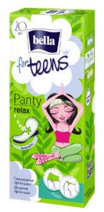 Bella Гигиенические ежедневные прокладки For Teens Panty Relax 20шт