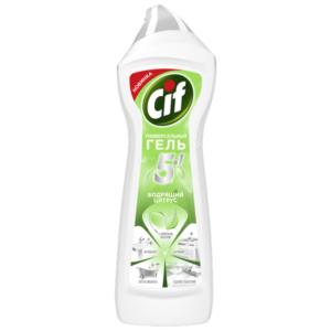 CIF гель для чистки Универсальный Бодрящий цитрус 750мл