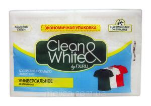 DURU Хозяйственное мыло Clean&White Универсальное 125гр