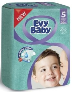 Evy Baby Подгузники Junior 11-25кг №5 20шт