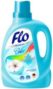 FLO жидкий порошок для стирки Color экстракт Хлопка 1л