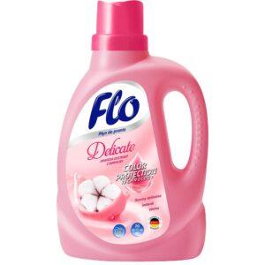 FLO жидкий порошок для стирки Delicate экстракт Хлопка 1л