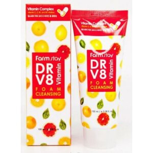 Farm Stay пенка Воздушная для умывания с витаминами С. Е. В5. В3 100мл