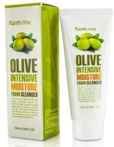 Farm Stay пенка для умывания с экстрактом Оливы 100мл