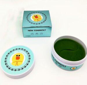 New Tonimoly патчи для глаз Гидрогелевые Зелёный 60шт
