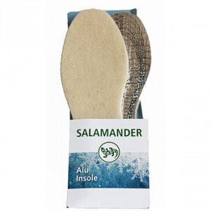 Salamander стельки зимние Alu Insole 36-46р шерсть и фольга 1шт