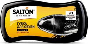 Salton губка для обуви для гладкой кожи Чёрная 1шт