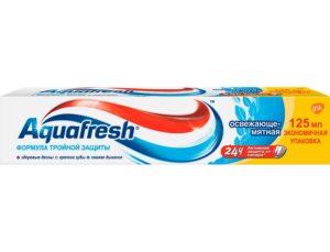 Aquafresh Зубная паста Освежающе-мятная 125мл