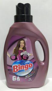 BINGO жидкий порошок для стирки All Colors 1000мл