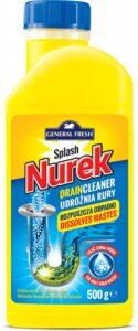 General Fresh средство для прочистки труб Splash Nurek 500гр