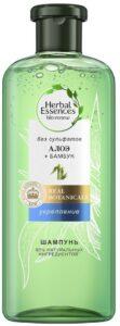 Herbal Essences шампунь Безфульфатный Укрепление Алоэ и Бамбук 380мл