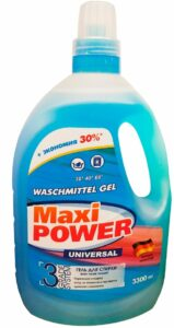 Maxi Power Гель для стирки белья Universal 3300мл