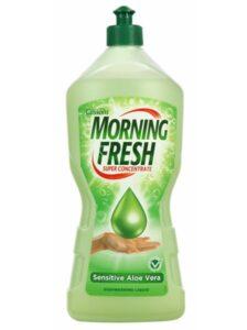 Morning Fresh Средство для мытья посуды Sensitive+ Aloe vera 900мл