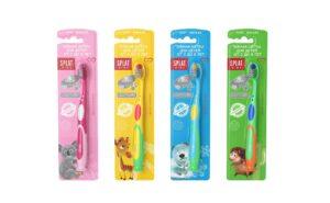 Splat Kids зубная щетка от 2 до 8лет Silver 1шт