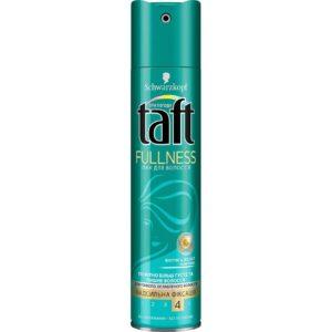 Taft лак для волос Fullness Сверхсильная Фиксация 4 Активный Biotin комплекс 225мл