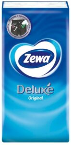 Zewa Носовые платочки Deluxe Original 3х слойные 10шт