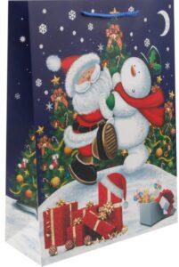 Пакет подарочный картон 31х42х12