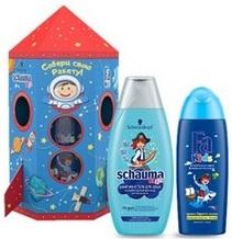 Подарочный набор Детский для Мальчиков Schauma Kids+Fa Fids Ракета